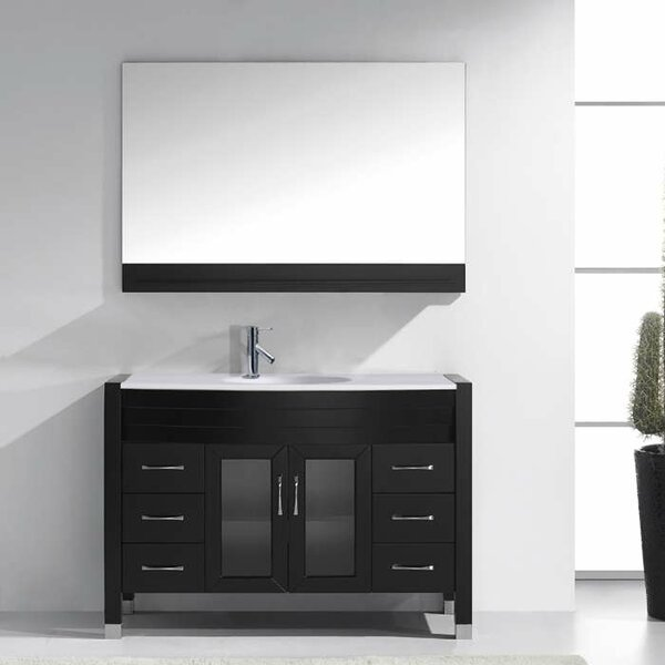 Frausto 47 Single Bathroom Vanity Set with Mirror by Brayden Studio