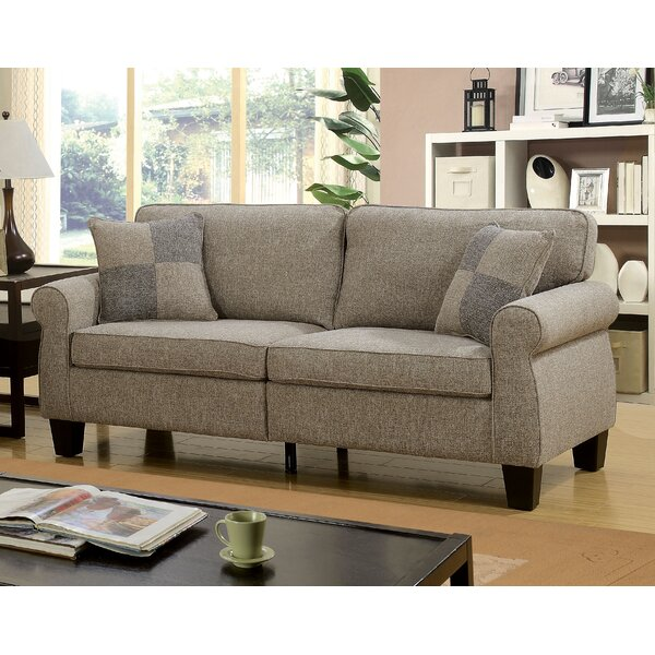 Cheapest Price For Felton Transitional Sofa by Alcott Hill by Alcott Hill