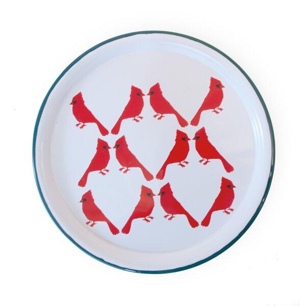 Loga Cardinal Platter by August Grove