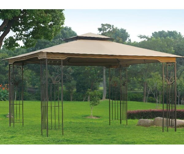 Replacement Privacy Panel for Leaf Steel Gazebo by Sunjoy