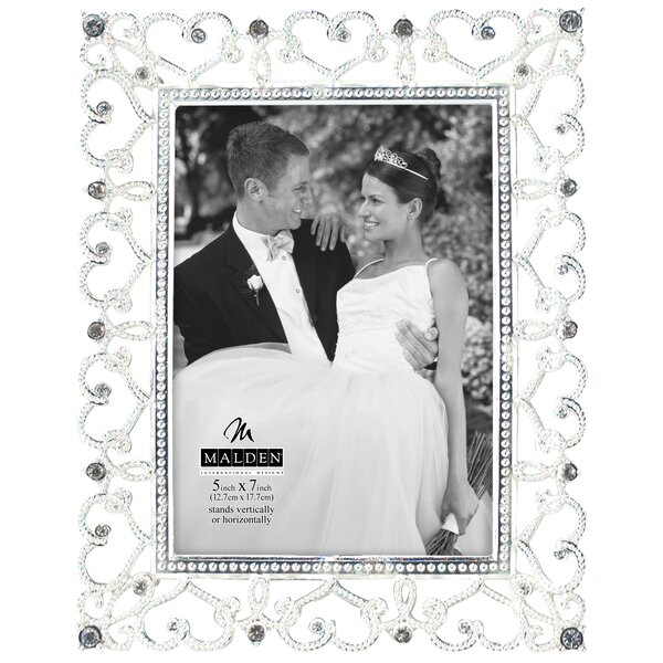 Diamond Hearts Picture Frame by Malden