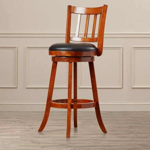 Hardcastle 29 Swivel Bar Stool by Three Posts