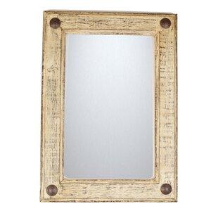 shabby rustic mirror - Wood Frame Mirror