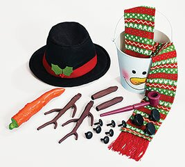 20 Piece Decorative Snowman Kit by The Holiday Aisle