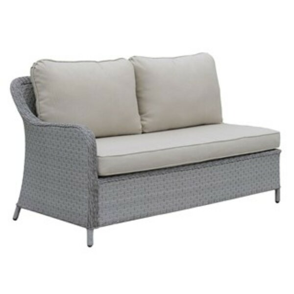 Kingon Loveseat with Cushions by Alcott Hill