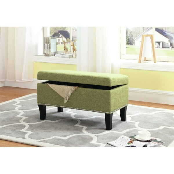 Mindy Upholstered Storage Bench by House of Hampton