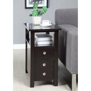 Red Barrel Studio Merrill End Table With Storage� Image