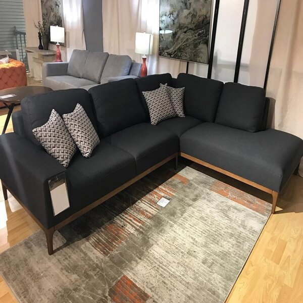Charron 76 Right Hand Facing Corner Relax Sectional