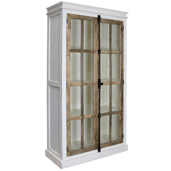 Faunsdale Curio 2 Door Accent Cabinet by Gracie Oaks Gracie Oaks