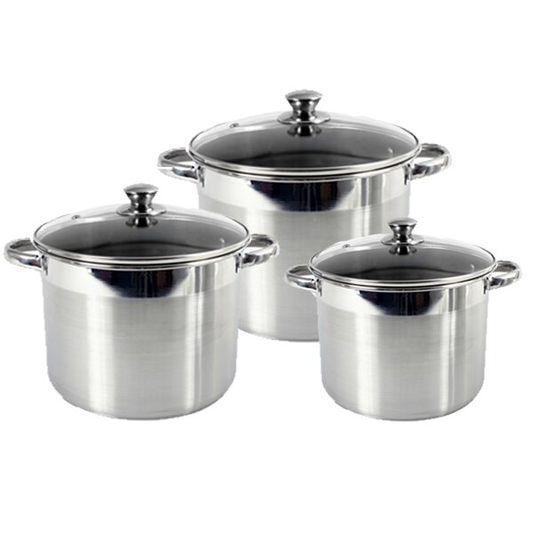 6 Piece Pot Set by Heuck