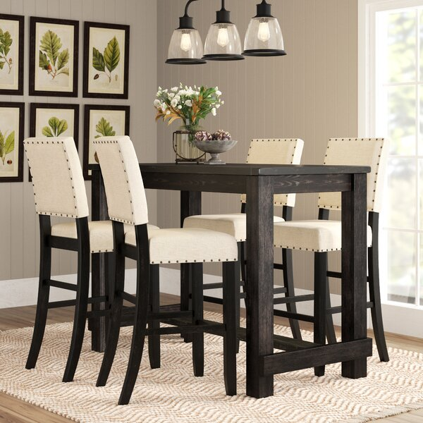 Calila 5 Piece Pub Table Set by Birch Lane™ Heritage