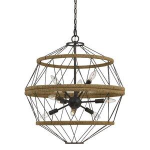 Burnett 9-Light Sputnik Chandelier