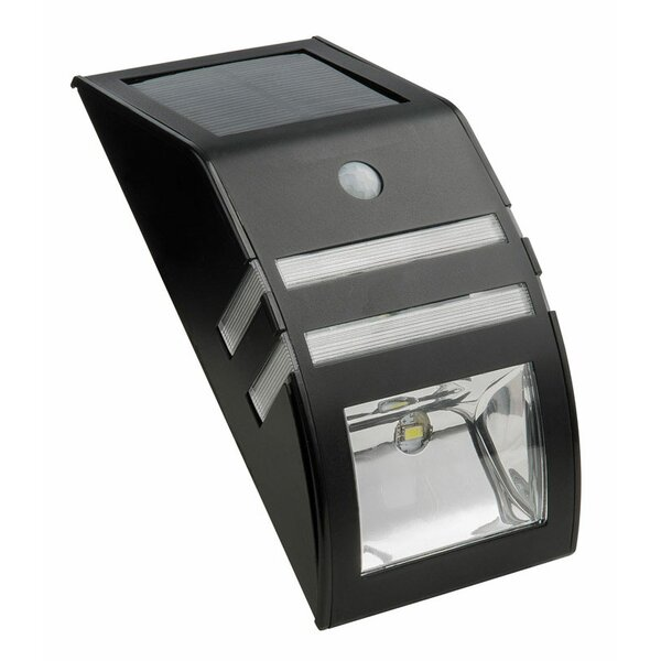 Security Solar Powered 1 Light LED Rail Light by Living Accents