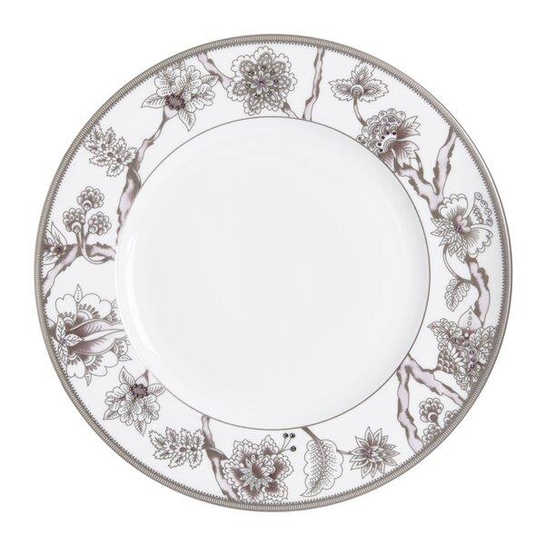 Pavo Silver 10.5 Bone China Dinner Plate