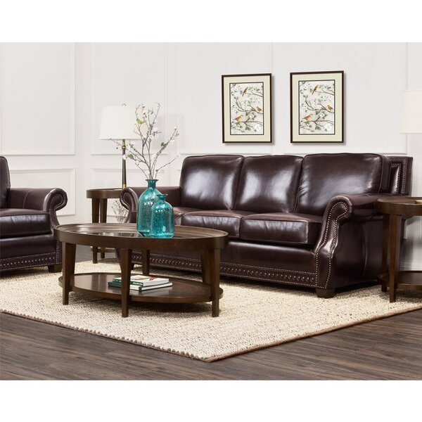 Best Price For Diana Leather Sofa by Trent Austin Design by Trent Austin Design