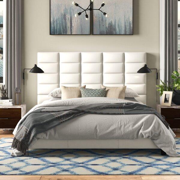 Quang Modern King Upholstered Platform Bed by Brayden Studio