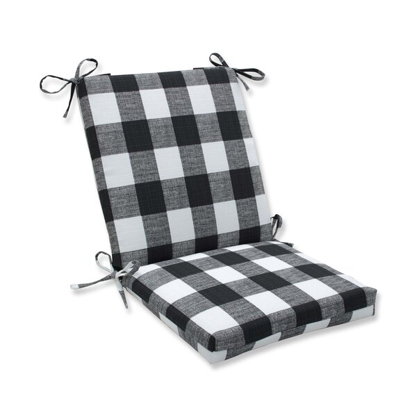 Lylah Coconut Indoor/Outdoor Dining Chair Cushion