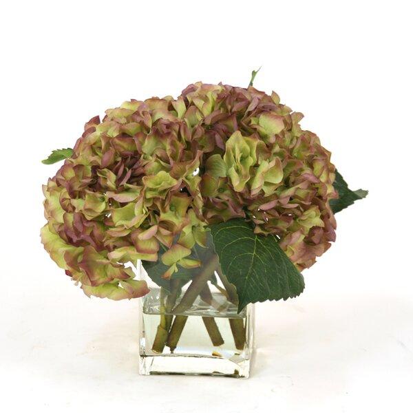 Hydrangeas Floral Arrangement by Distinctive Designs