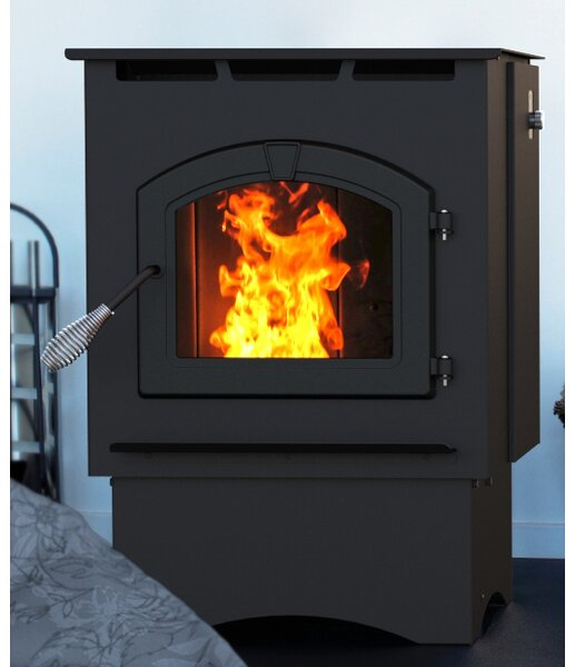 1,750 sq. ft. Direct Vent Pellet Stove by Pleasant Hearth