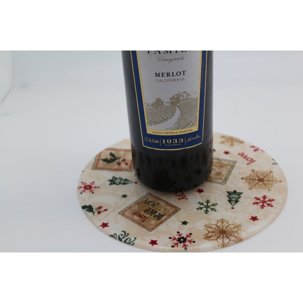 Heartfelt Holiday Trivet by Andreas Silicone Trivets