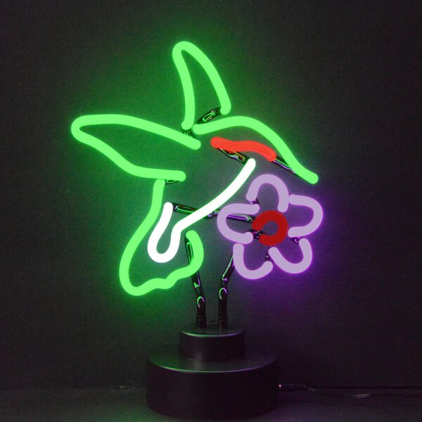 Business Signs Humming Bird Neon Sign by Neonetics