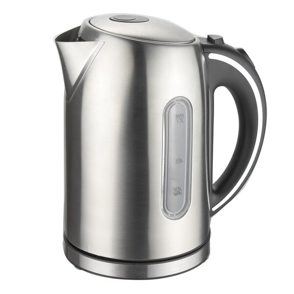 1.8-qt. Stainless Steel Electric Tea Kettle by Mega Chef