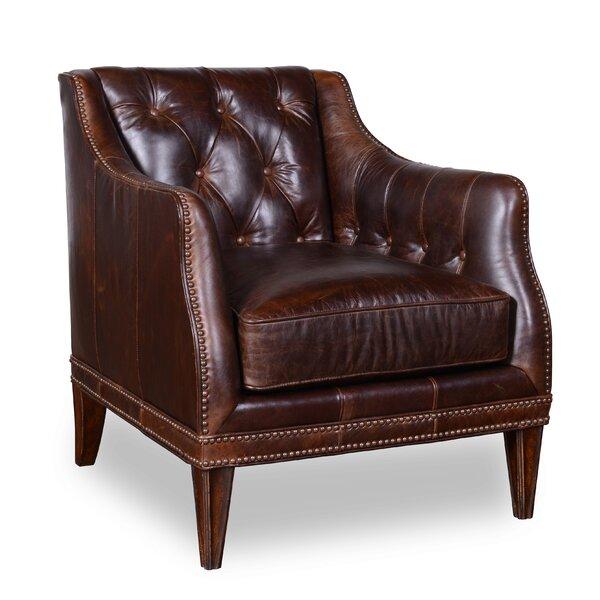 Rhonda Leather Club Chair by Trent Austin Design
