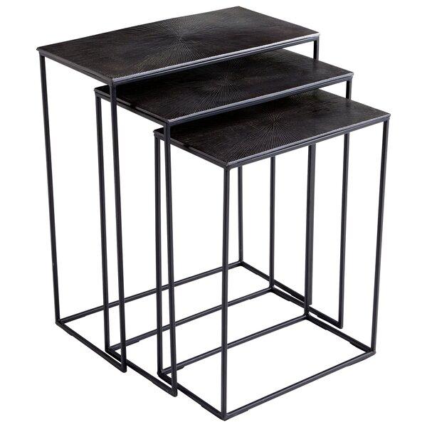 Kala 3 Piece Nesting Tables by Cyan Design Cyan Design