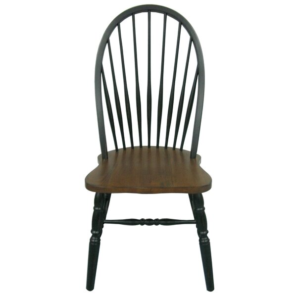 Fininghouse Bow Back Solid Wood Dining Chair by Tennessee Enterprises INC