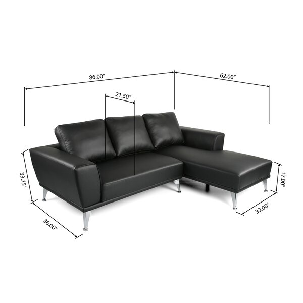 Keila Modern Sectional by Orren Ellis