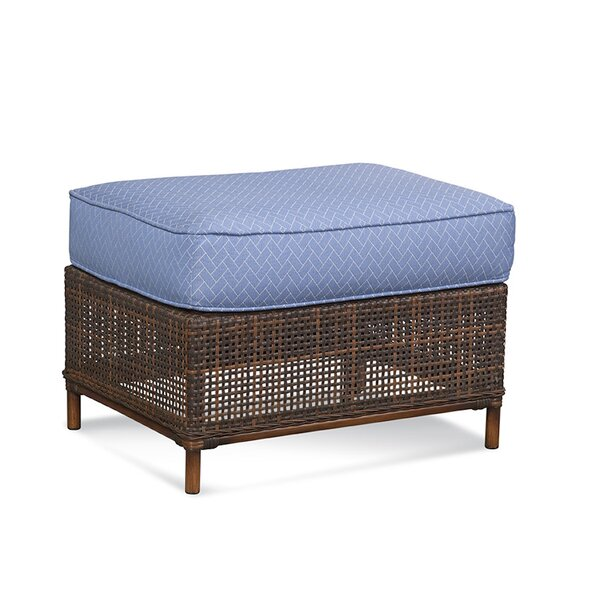 Palermo Outdoor Ottoman with Cushion by Braxton Culler