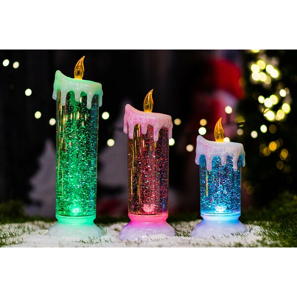 Sparkling Candle with Water Inside by Hi-Line Gift Ltd.