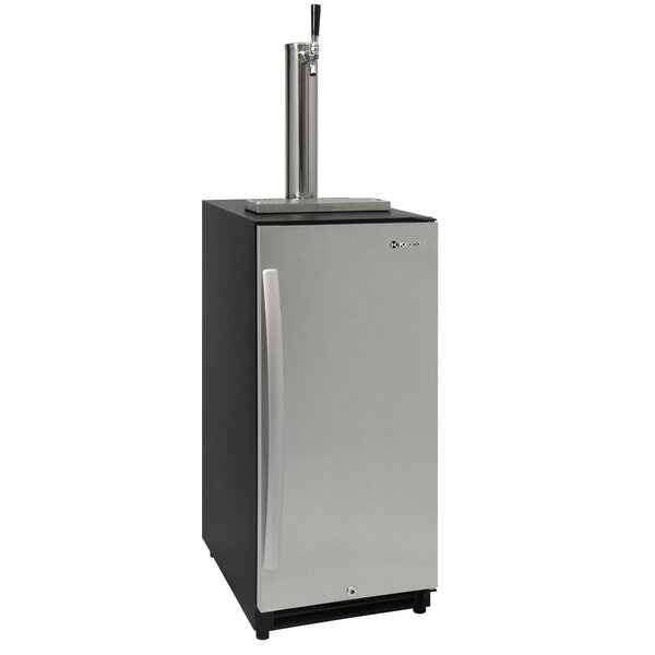 3.45 cu. ft. Single Tap Kegerator by Kegco