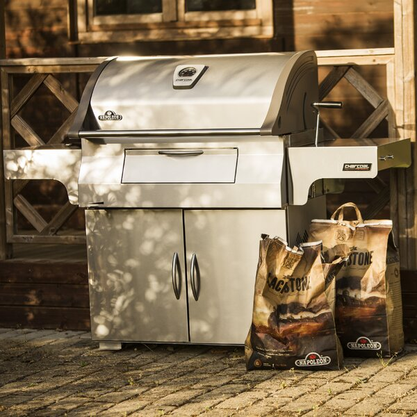 67.5 Professional Charcoal Grill with Smoker by Napoleon