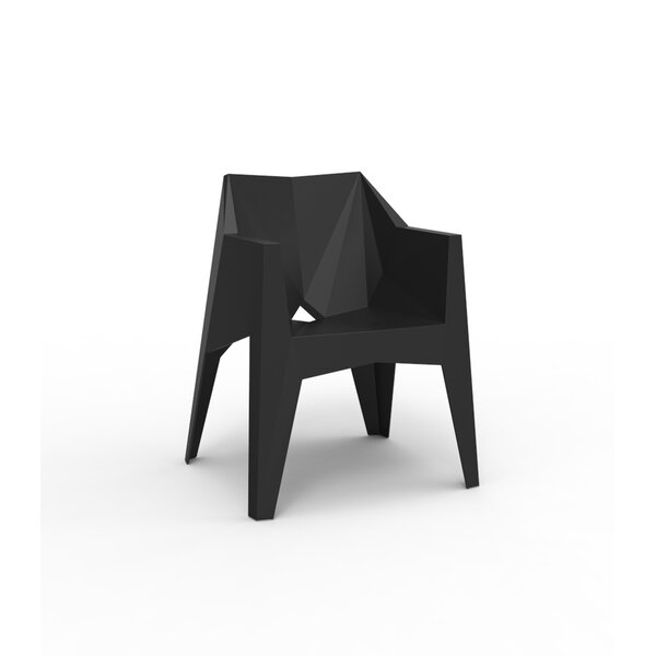 Voxel Stacking Patio Dining Chair by Vondom
