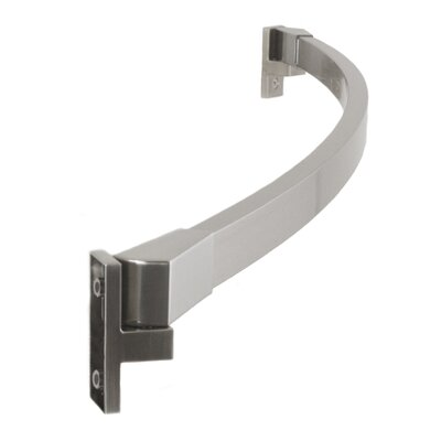 60'' Curved Shower Curtain Rod Preferred Bath Accessories Finish: Brushed Nickel