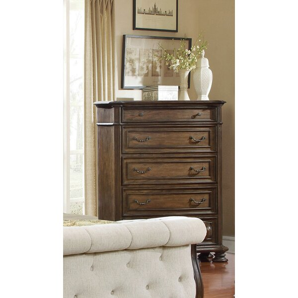 Niall 5 Drawer Chest by Charlton Home