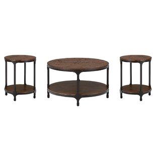 Carolyn 3 Piece Coffee Table Set Laurel Foundry Modern Farmhouse