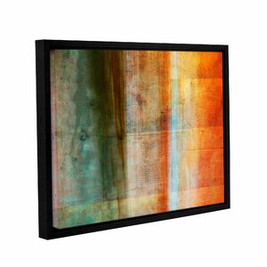 'Orange Zest' by Hartson-Weddle Ryan Painting Print on Wrapped Canvas by ArtWall
