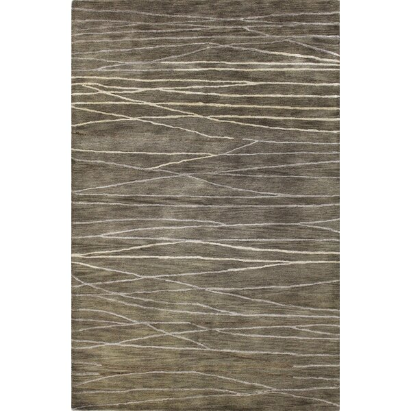 Primavera Hand-Tufted Taupe Area Rug by Corrigan Studio