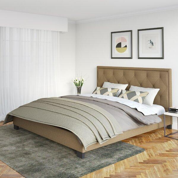 Debord Upholstered Platform Bed by Darby Home Co