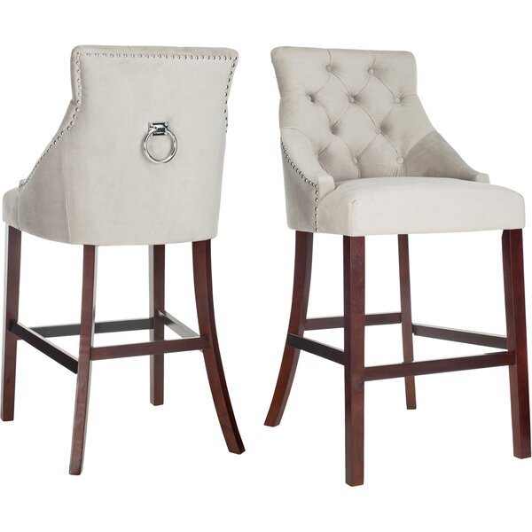 Kaczmarek 30  Bar Stool (Set of 2) by Darby Home Co