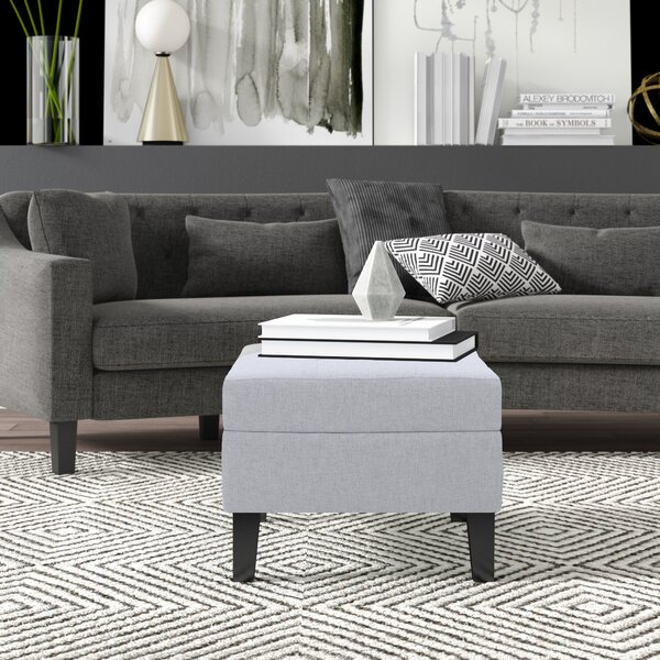 Rogelio Tufted Ottoman by Mercury Row