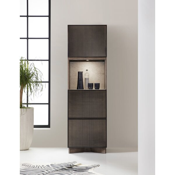 Melange Virtrine Bar Cabinet by Hooker Furniture Hooker Furniture