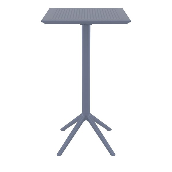 Ravensworth Folding Plastic Bar Table by Ebern Designs