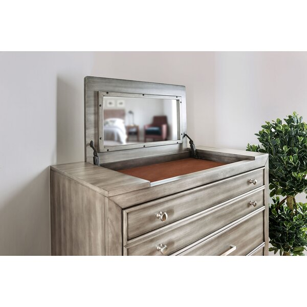 Julia 5 Drawer Chest By Everly Quinn Sale