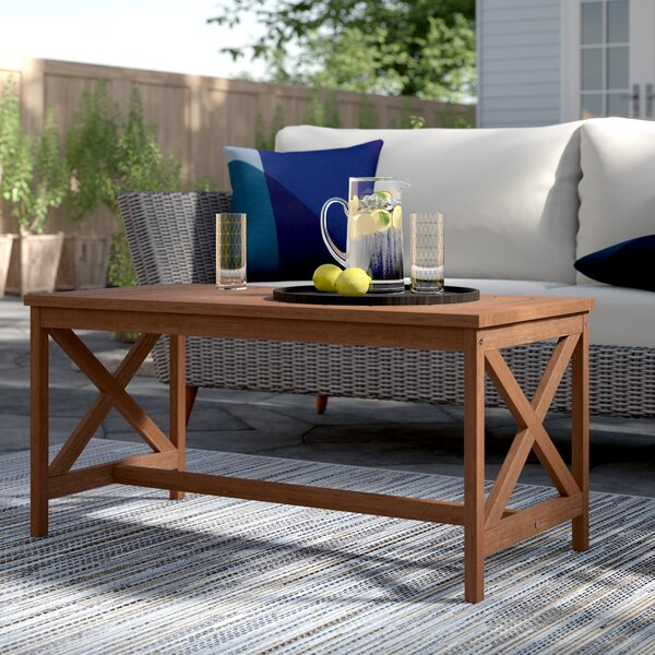 Arianna Wooden Coffee Table by Langley Street™