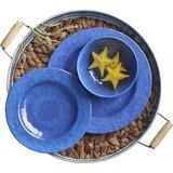 Lystra Knotts Melamine 12 Piece Dinnerware Set, Service for 4 byHighland Dunes