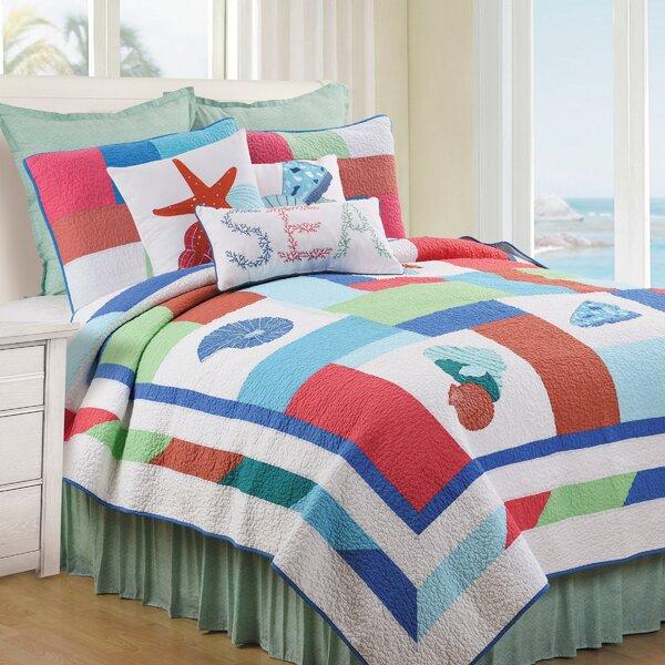 Hempel Reversible Quilt Set by Highland Dunes
