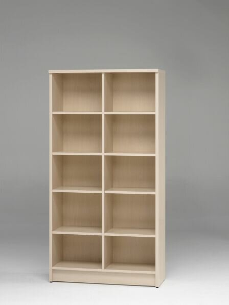 Double Standard Bookcase by Jay-Cee Functional Furniture